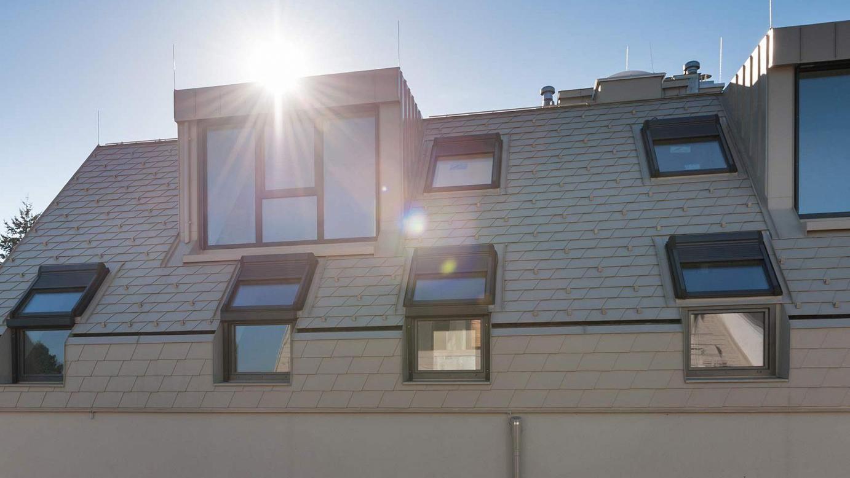- Okno fasadowe Designo R1 referenz