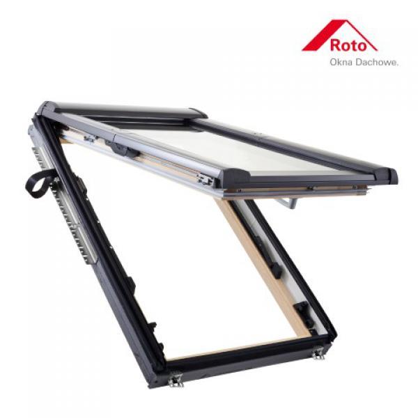 DachHolding  roto uchylno-wysokoosiowe Designo R8