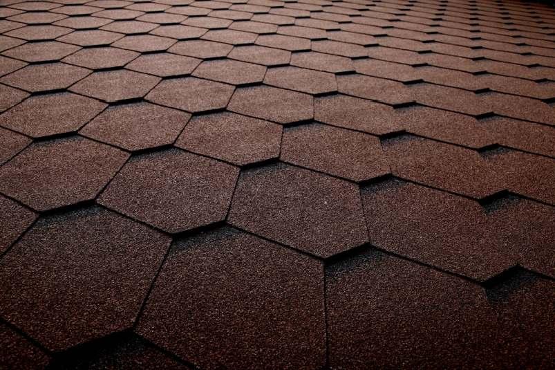 DachHolding bmiicopal Heksagonalny CM3 brązowy z czarnym podcieniem