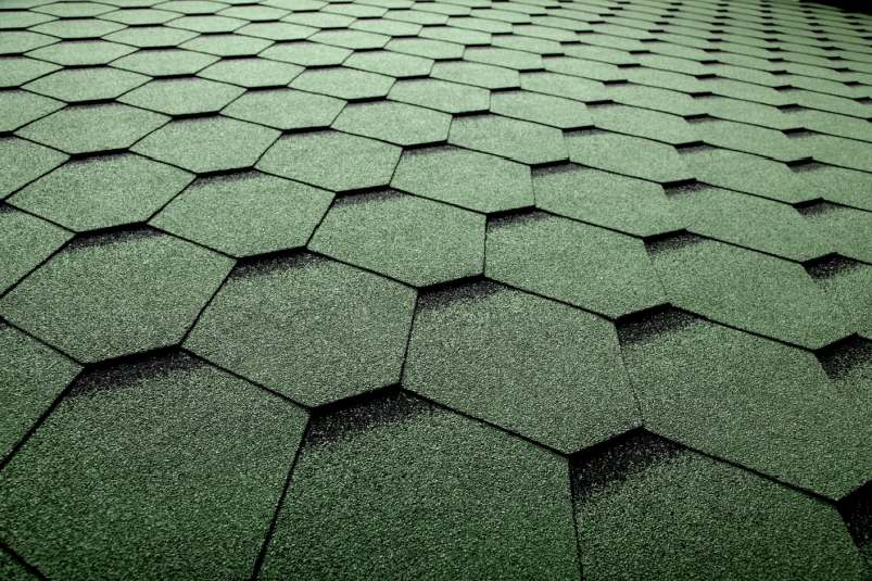 DachHolding bmiicopal Heksagonalny CM4 zielony z czarnym podcieniem