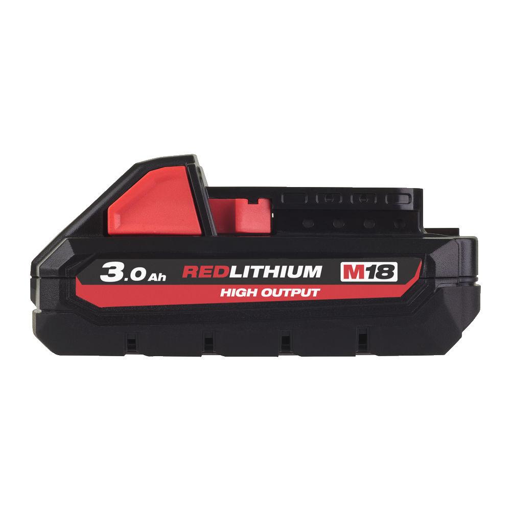 DachHolding gpsystems Milwaukee - Akumulator M18 High Output 3.0 AH