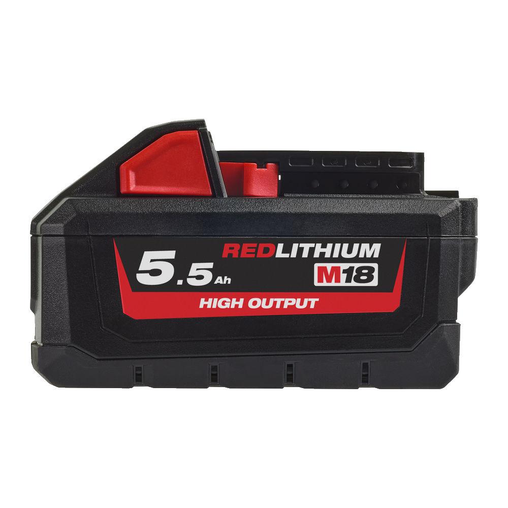 DachHolding gpsystems Milwaukee - Akumulator M18 High Output 5.5 AH